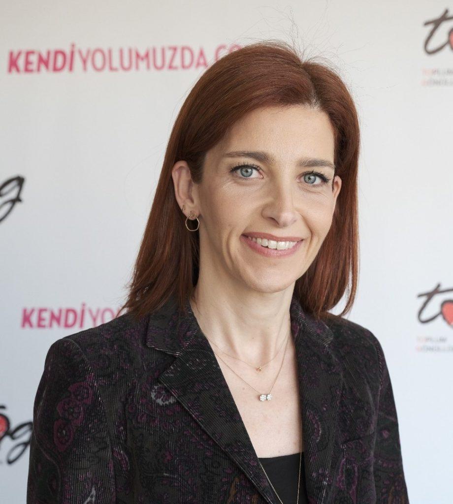 Didem Duru-Toplum Gönüllüleri Vakfı Yönetim Kurulu Eş Başkanı