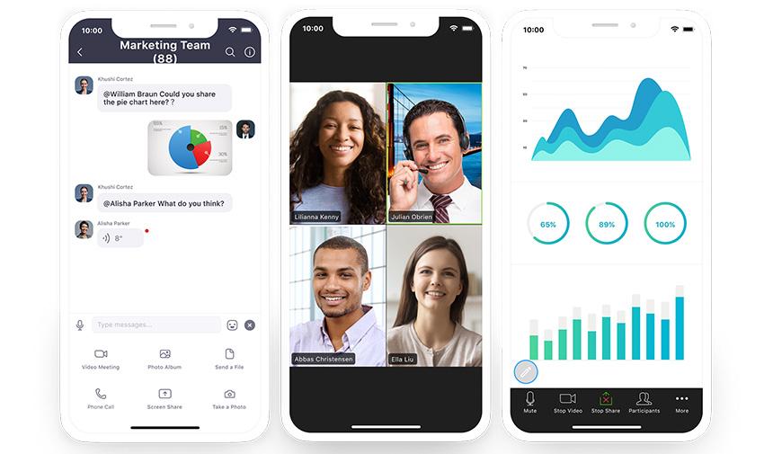 Zoom Phone düşük veri tüketimi sağlıyor.